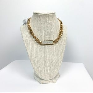 Gold & Silver NWT Icing Necklace